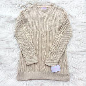 Tommy Bahama Big girl size Large  sweater tunic